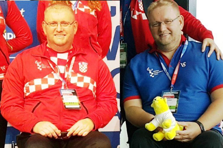 Davor Komar s medaljama na SP u Liverpoolu