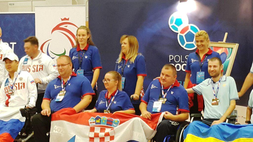 Dodjela medalja na Europskom kupu u boćanju, Poznan - Poljska, 5.-12. rujna 2018. godine